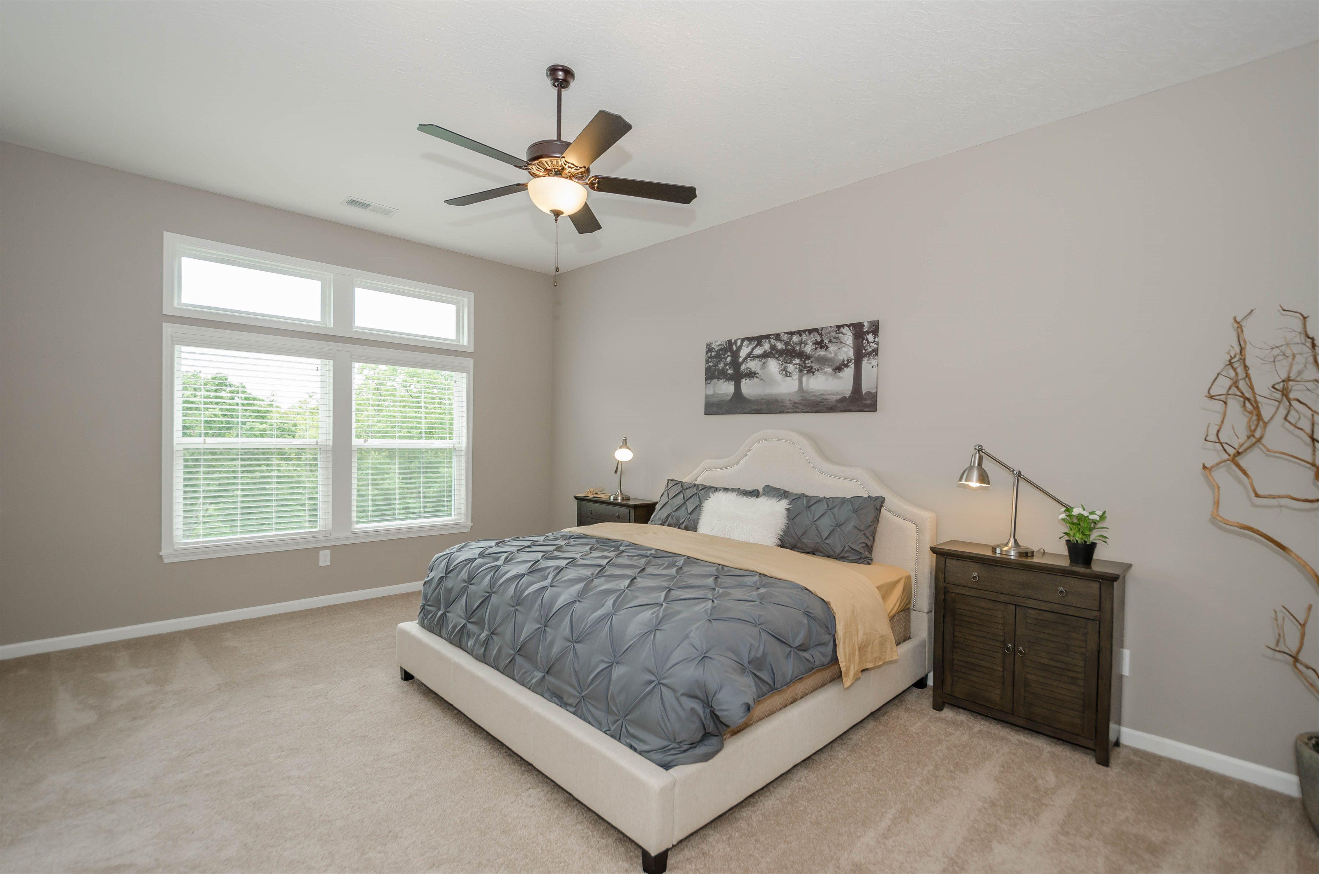 Bedroom featured in the Baypoint II By Fischer Homes  in Cincinnati, IN