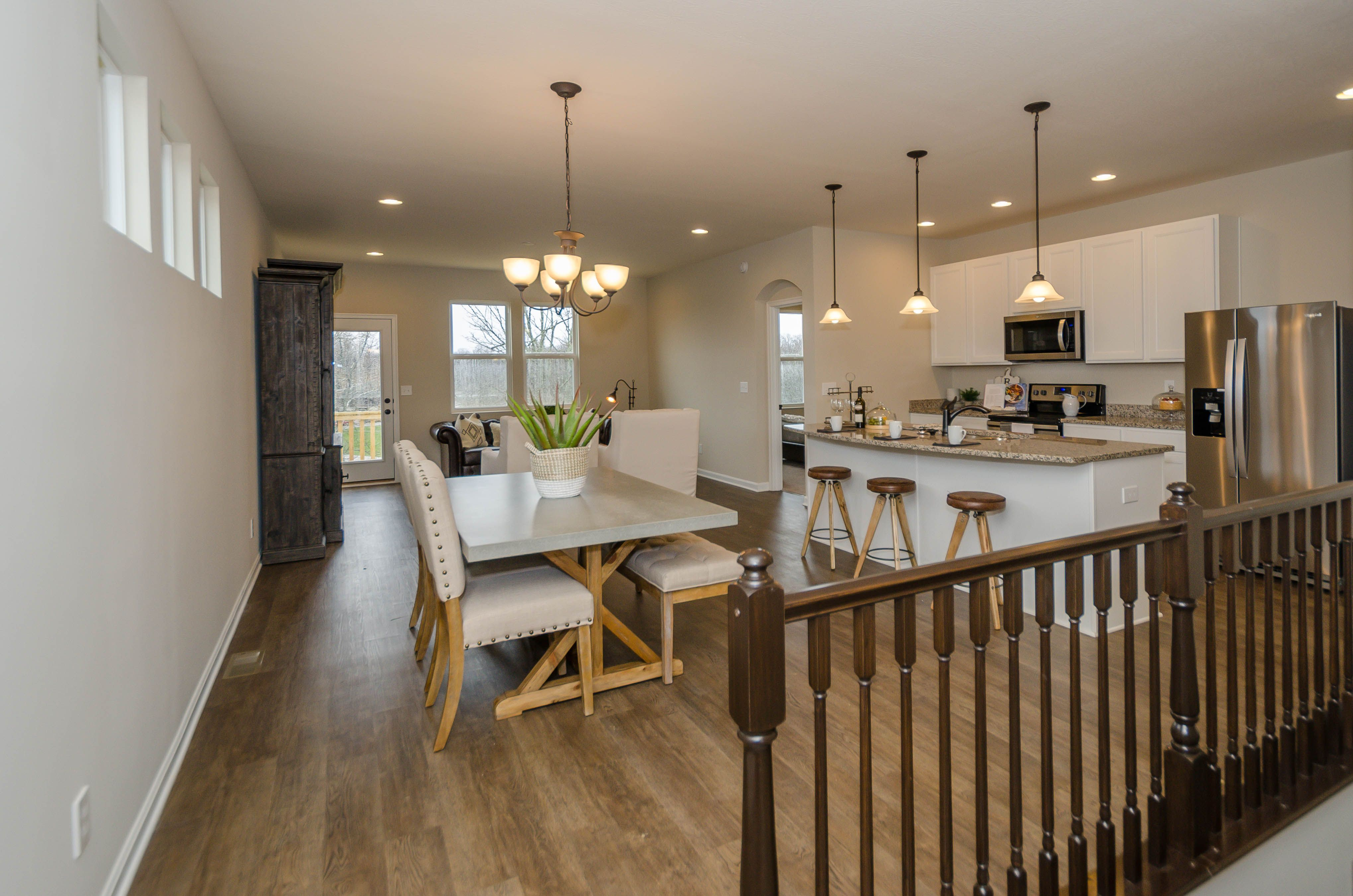 Living Area featured in the Wembley By Fischer Homes  in Cincinnati, OH