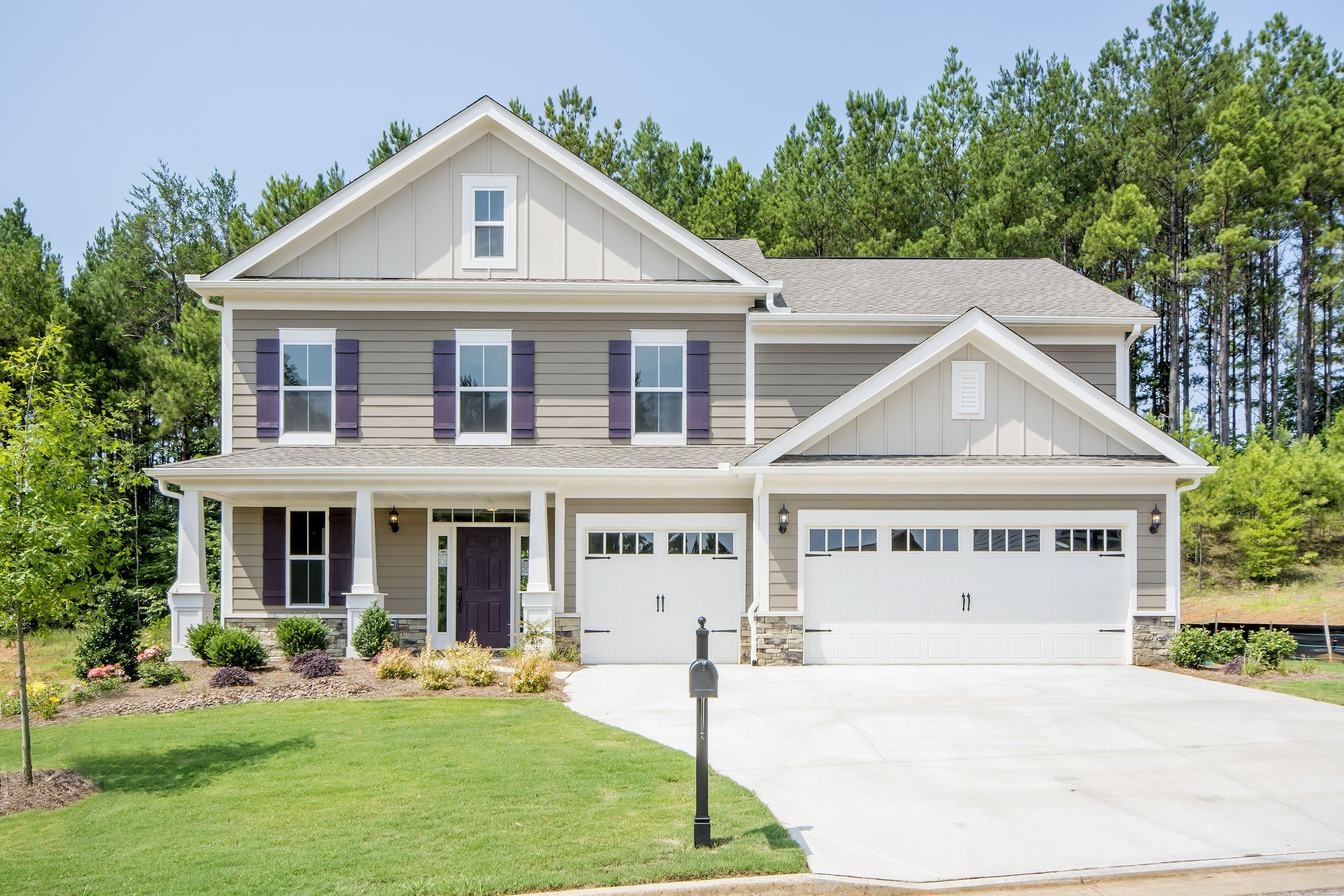 'Twin Falls at River Crest' by Fischer Homes  in Louisville