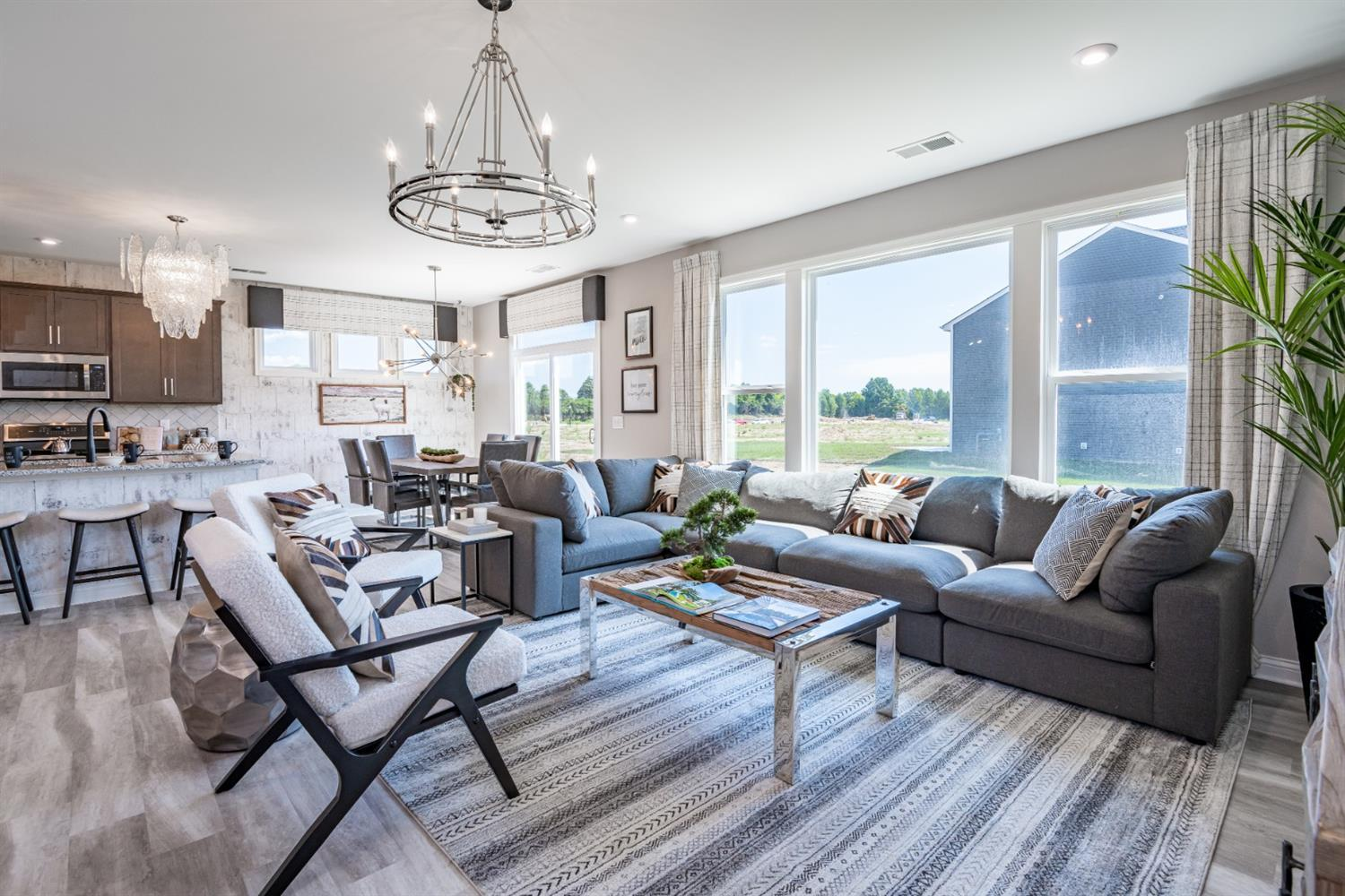 Living Area featured in the Keaton By Fischer Homes  in Cincinnati, OH