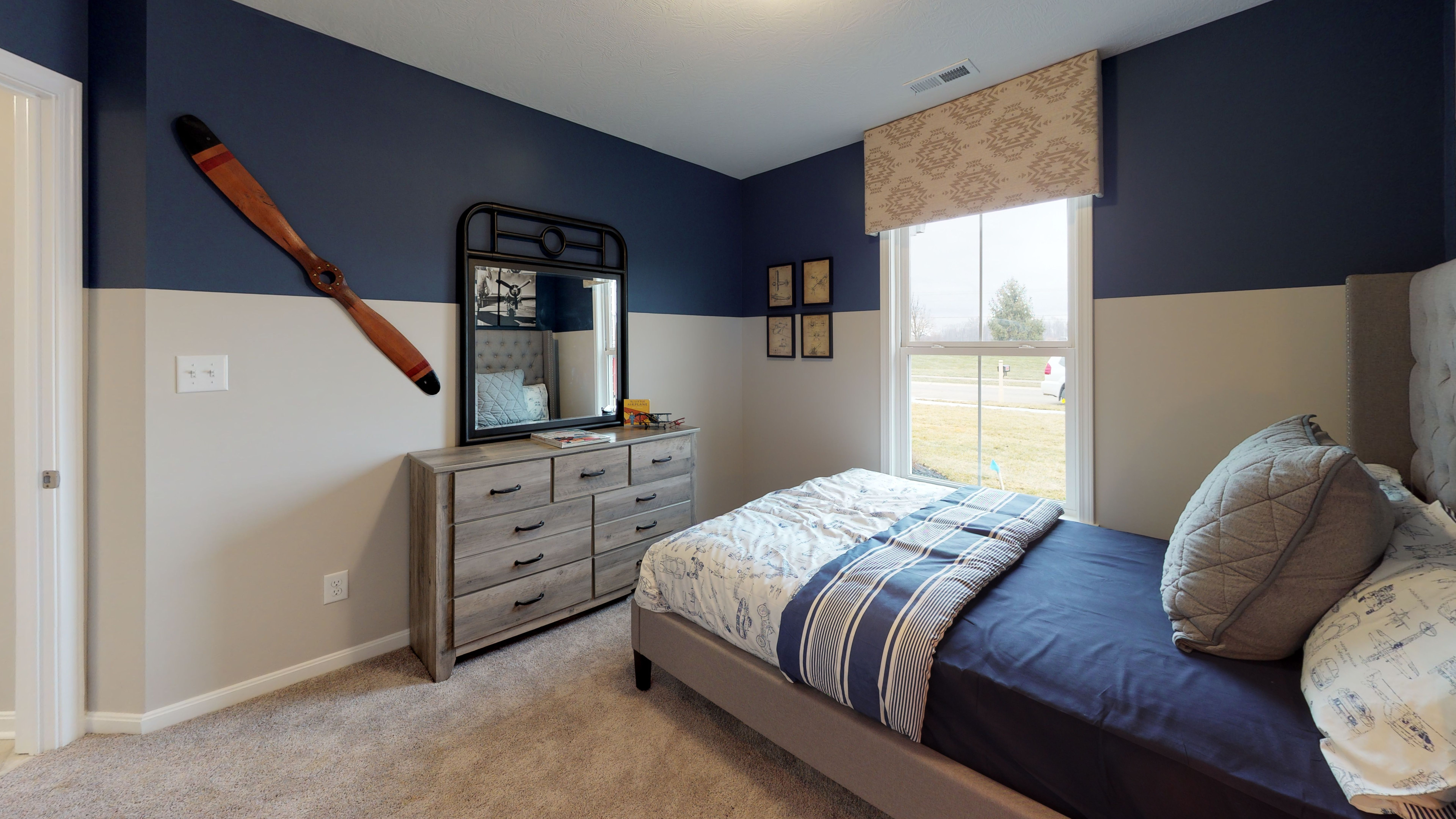 Bedroom featured in the Preston By Fischer Homes  in Louisville, KY