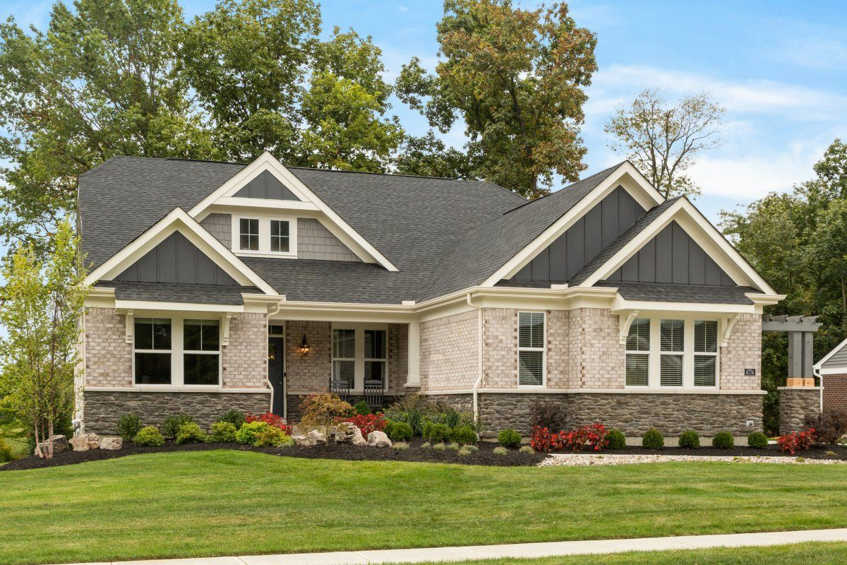 Exterior featured in the Everett By Fischer Homes  in Atlanta, GA