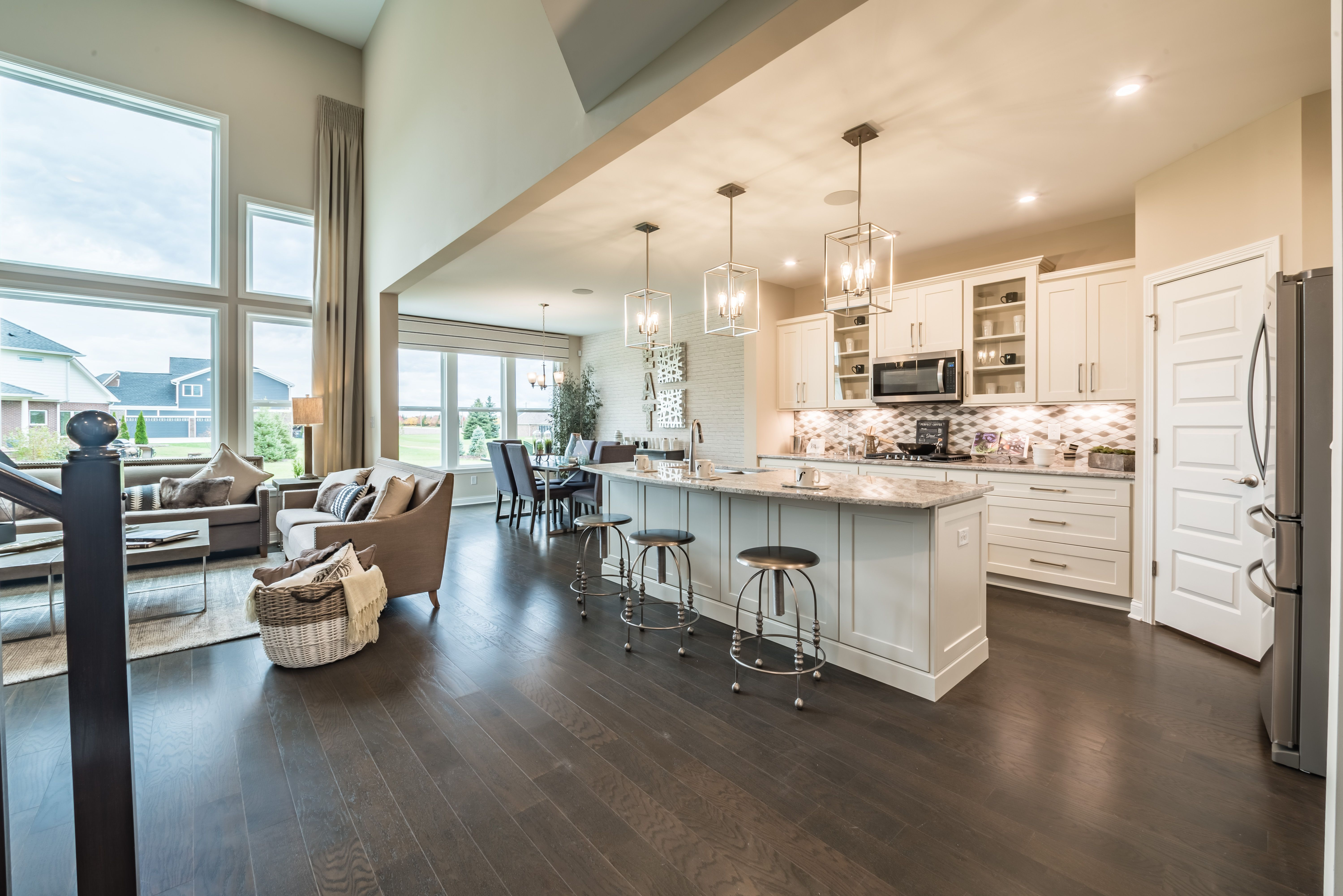 Living Area featured in the Clay By Fischer Homes  in Cincinnati, KY