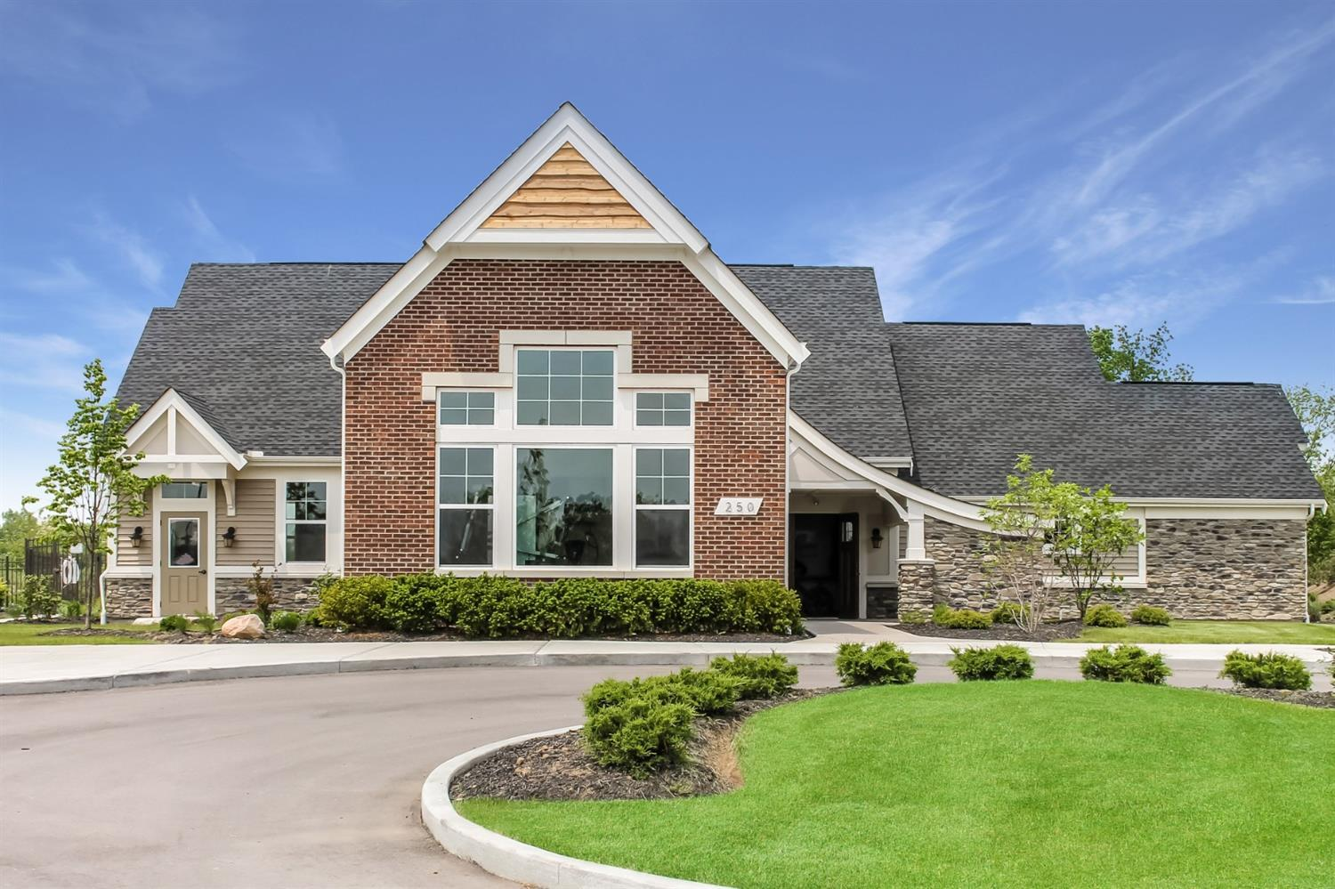 Exterior featured in the Waterton By Fischer Homes  in Dayton-Springfield, OH