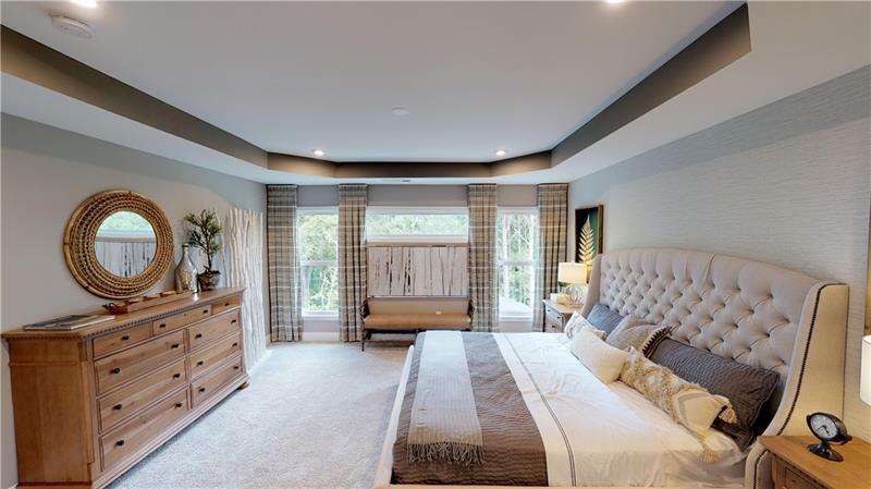 Bedroom featured in the Grandin/Mitchell By Fischer Homes  in Atlanta, GA