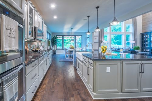 Kitchen-in-Paxton-at-Piper Glen-in-Fishers