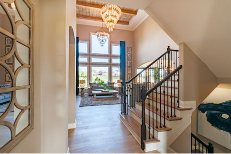 Stairway-in-Crestview-at-Thorpe Creek - The Woods-in-Fishers