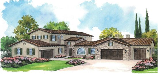 Exterior featured in the Residence Three  By Fleming Communities  in Riverside-San Bernardino, CA