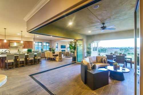 Greatroom-and-Dining-in-Residence One-at-The Groves-in-Temecula