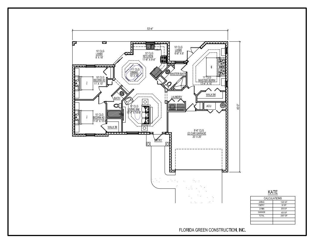 Kate Plan, Palm Coast, Florida 32137 - Kate Plan at Florida Green ...