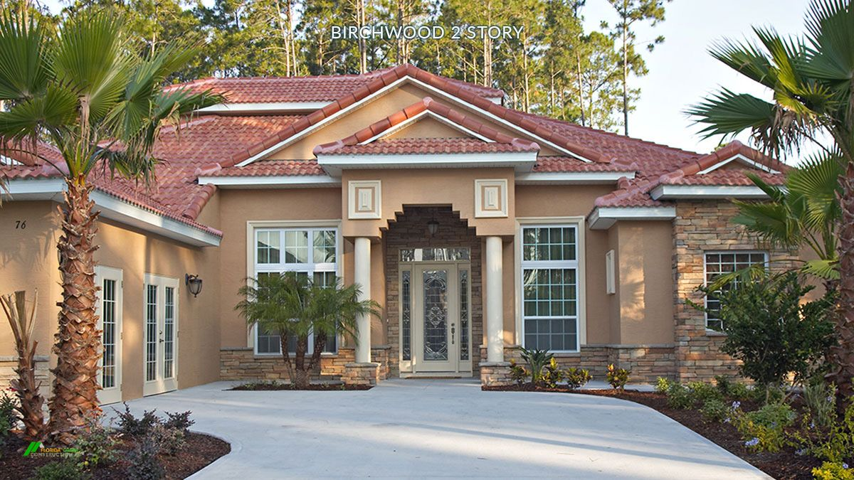 Exterior featured in the BIRCHWOOD 2 story. Certified Green Home By Florida Green Construction