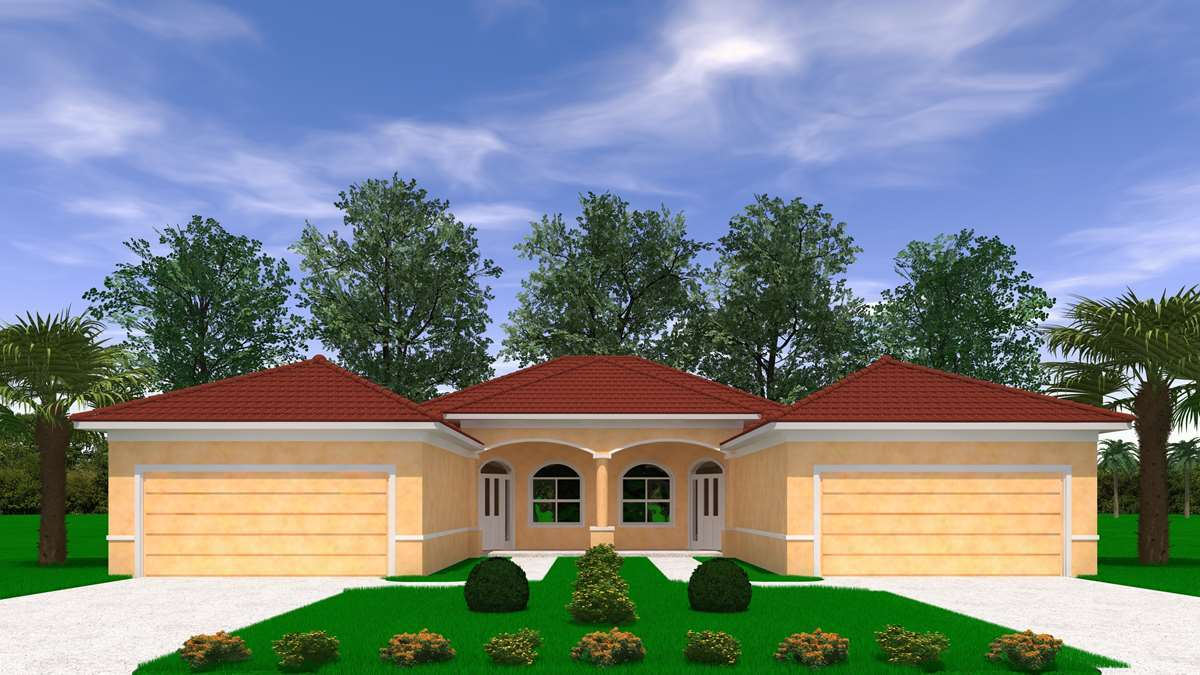 Eva plan palm coast florida 32137 eva plan at florida for Grand home designs fort worth