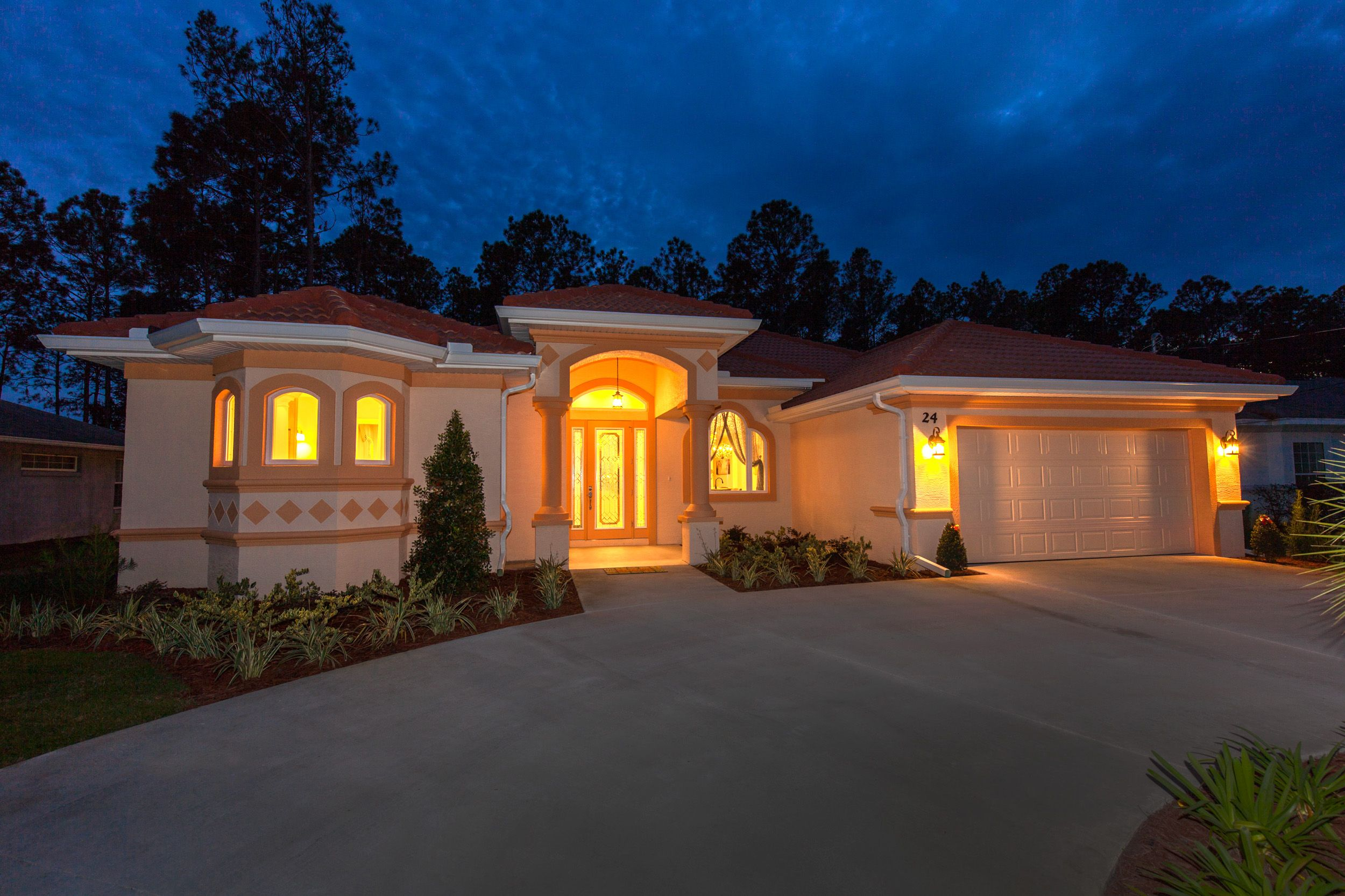 Exterior featured in the ALISA. Certified Green home By Florida Green Construction