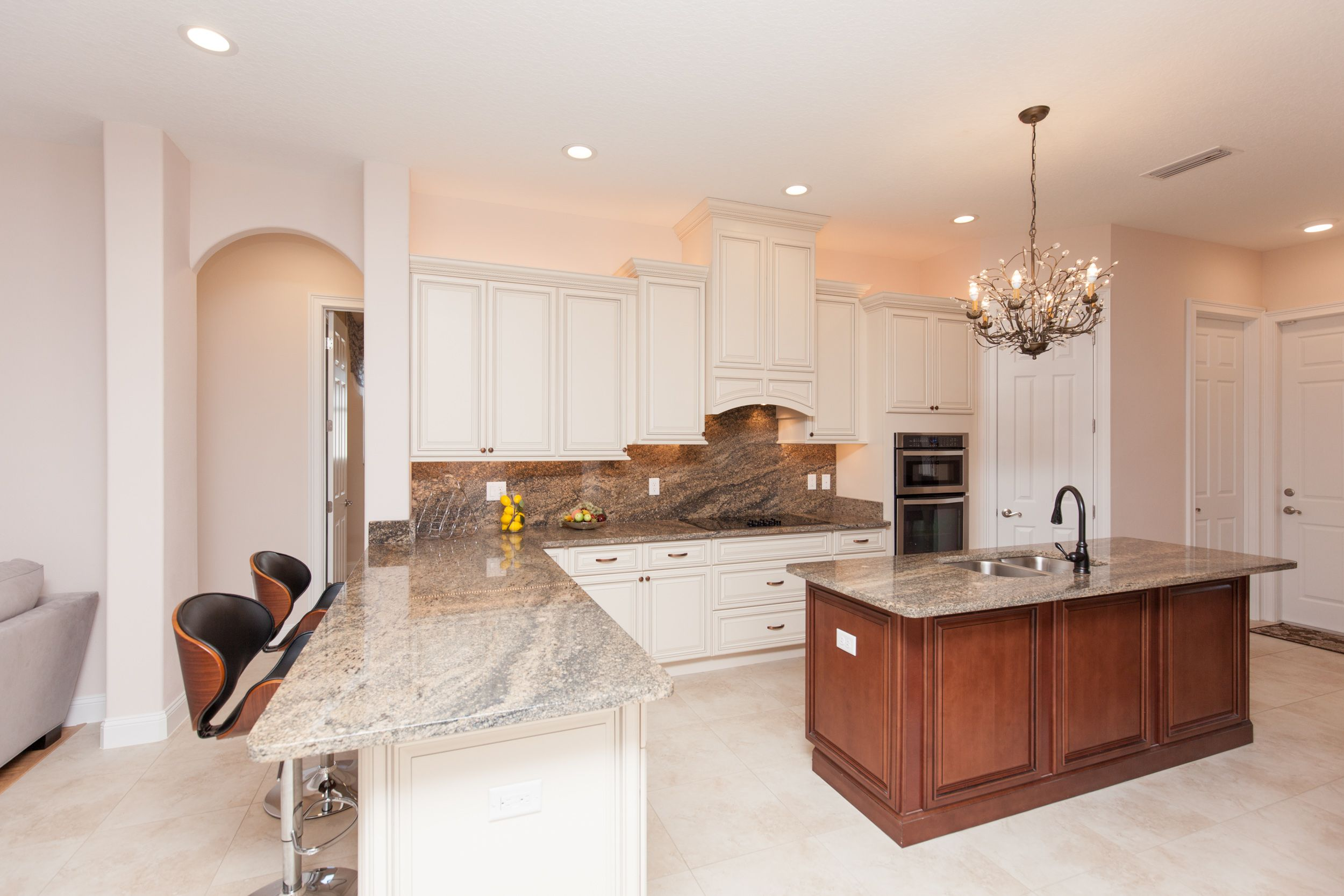Kitchen featured in the ALISA. Certified Green home By Florida Green Construction
