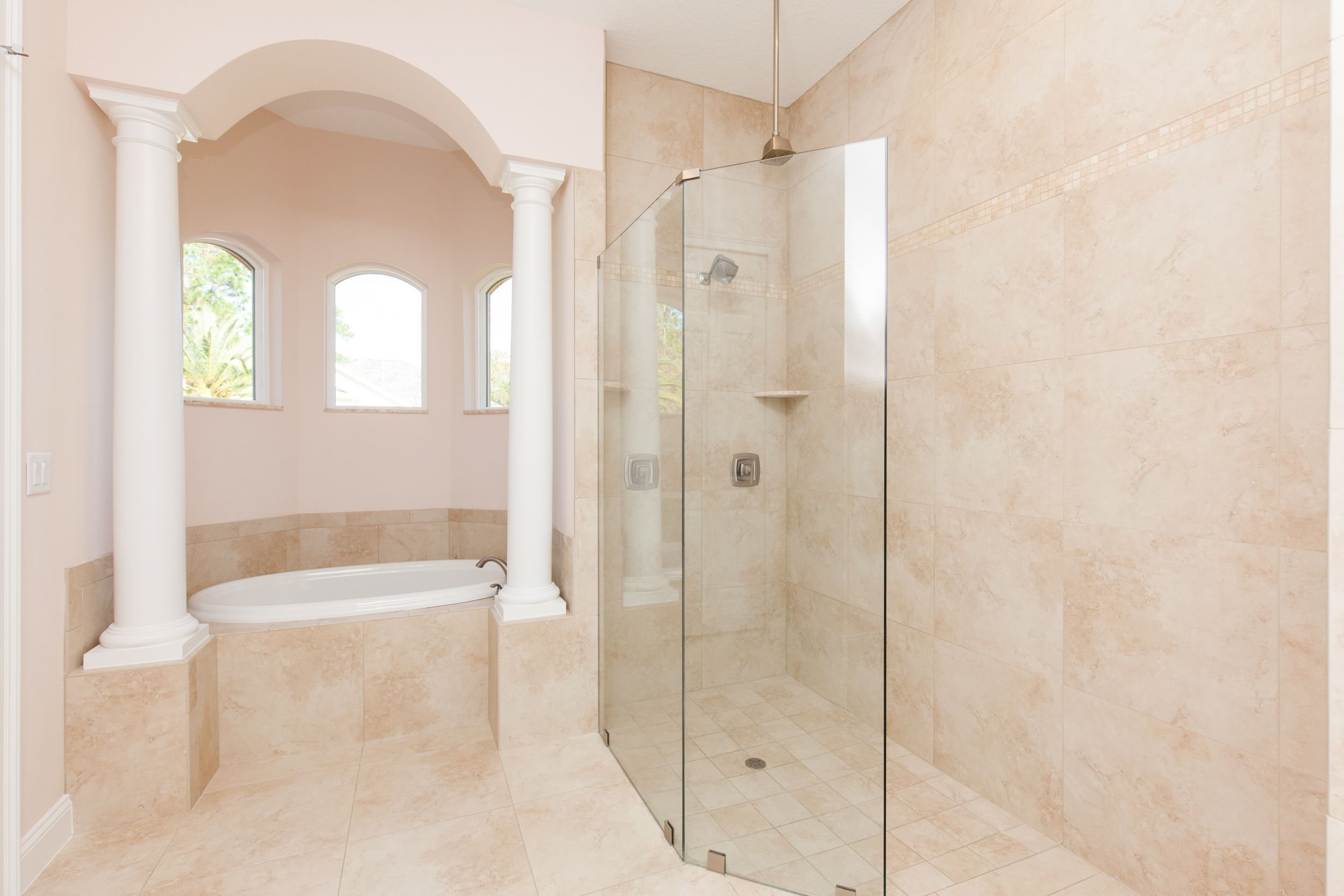 Bathroom featured in the ALISA. Certified Green home By Florida Green Construction