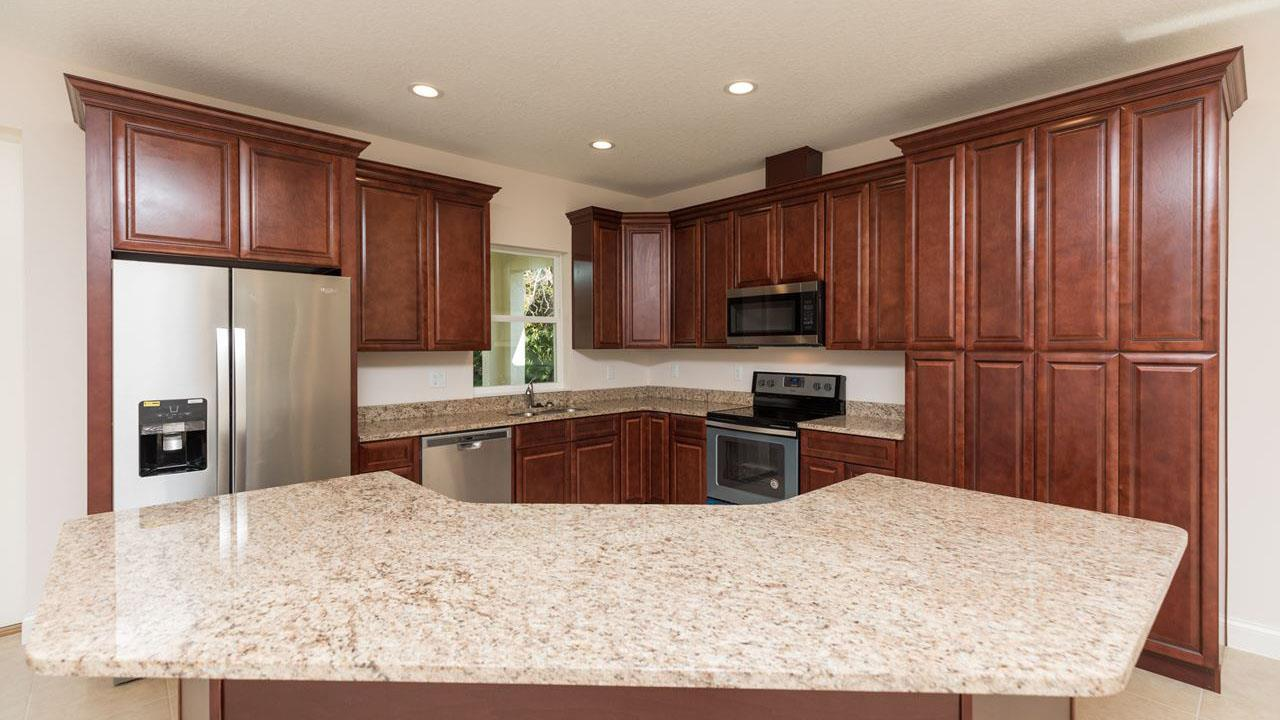 Kitchen featured in the DANIELLA. Aging-In-Place Certified Green home By Florida Green Construction