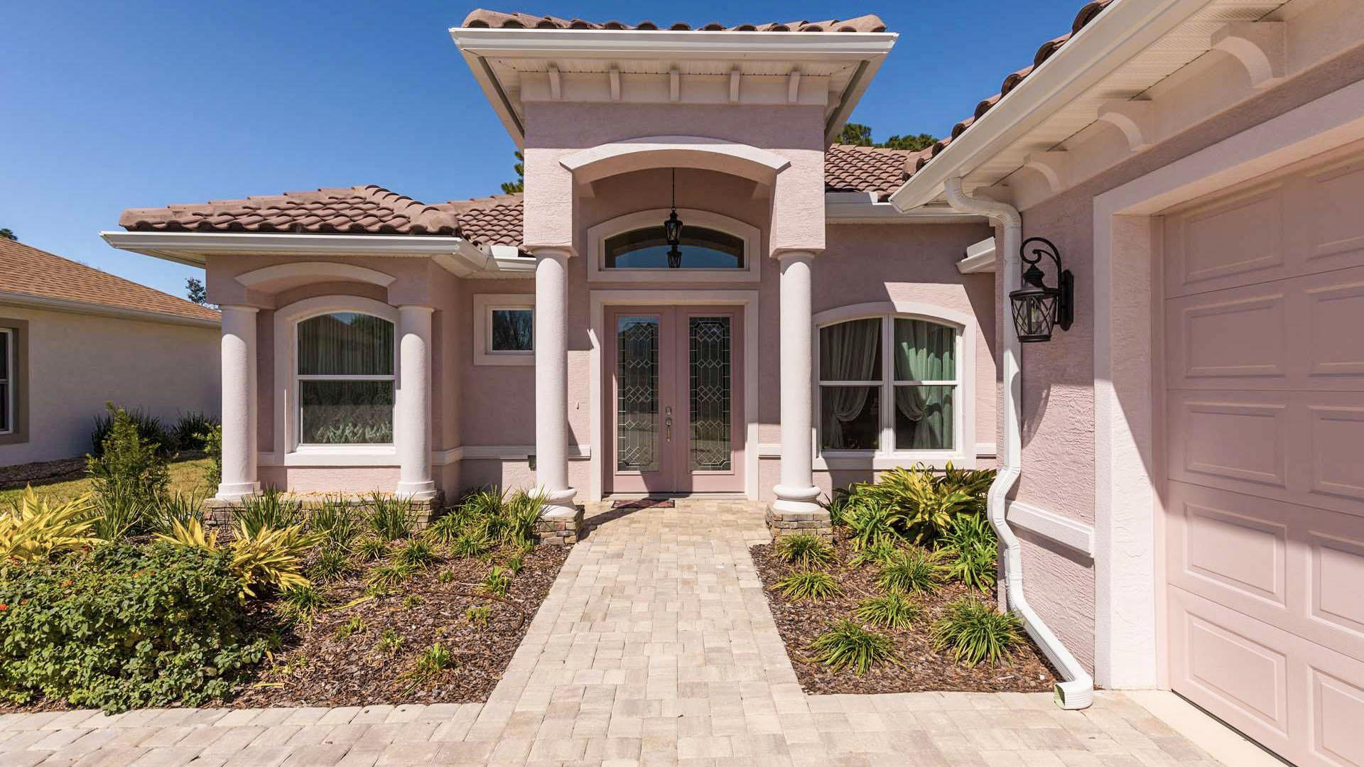 Exterior featured in the MARIA. Certified Green home By Florida Green Construction