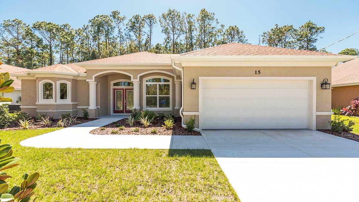Exterior featured in the LUCY. Certified Green home By Florida Green Construction