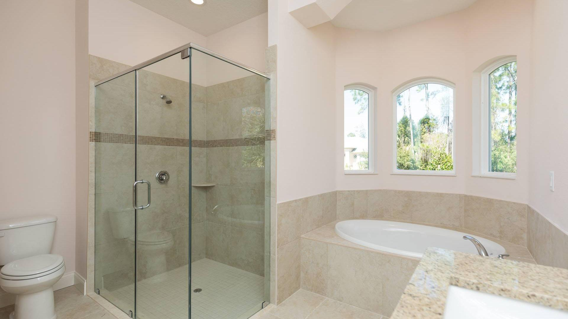Bathroom featured in the LUCY. Certified Green home By Florida Green Construction