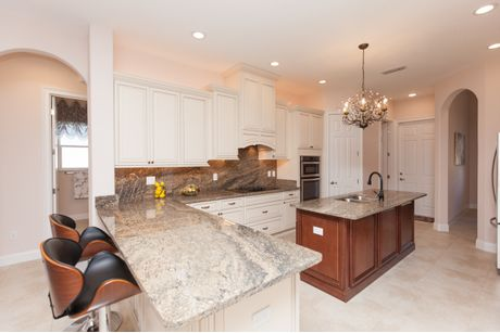 Kitchen-in-Alisa-at-Florida Green Construction-in-Palm Coast