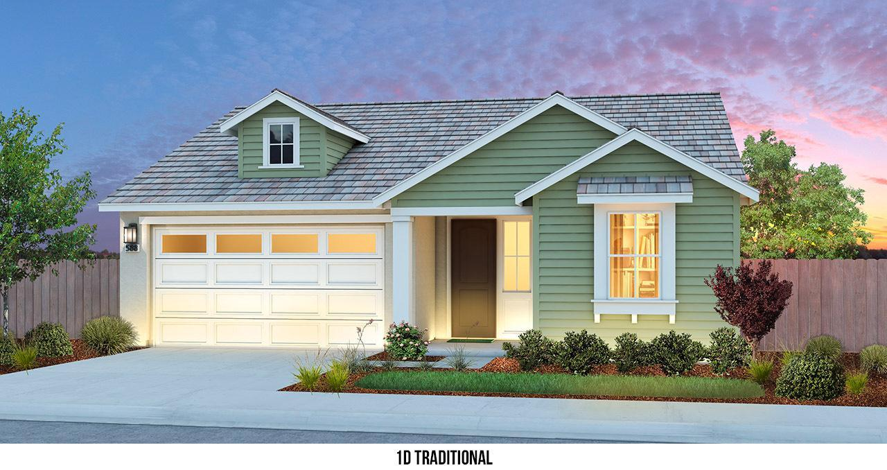 Exterior featured in THE AMBIANCE By Florsheim Homes in Modesto, CA