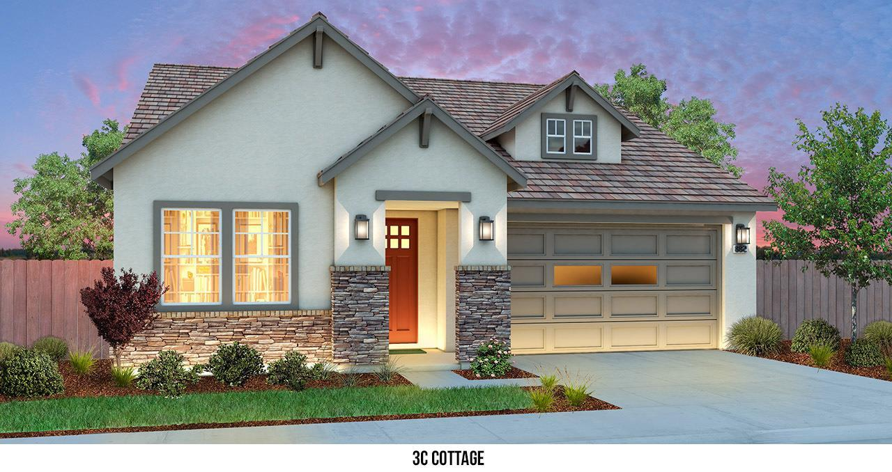 Exterior featured in THE MASTERPIECE By Florsheim Homes in Modesto, CA