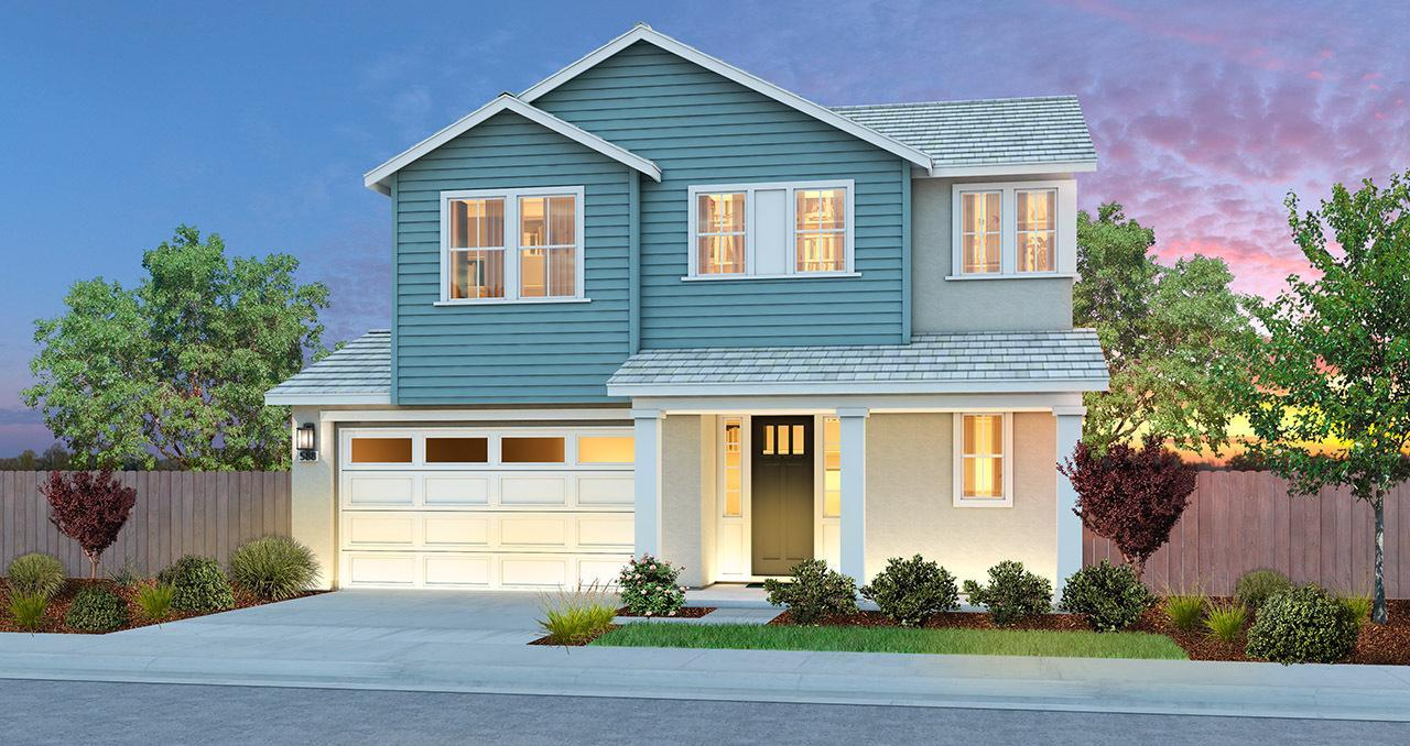 Exterior featured in THE CHANDELIER By Florsheim Homes in Modesto, CA