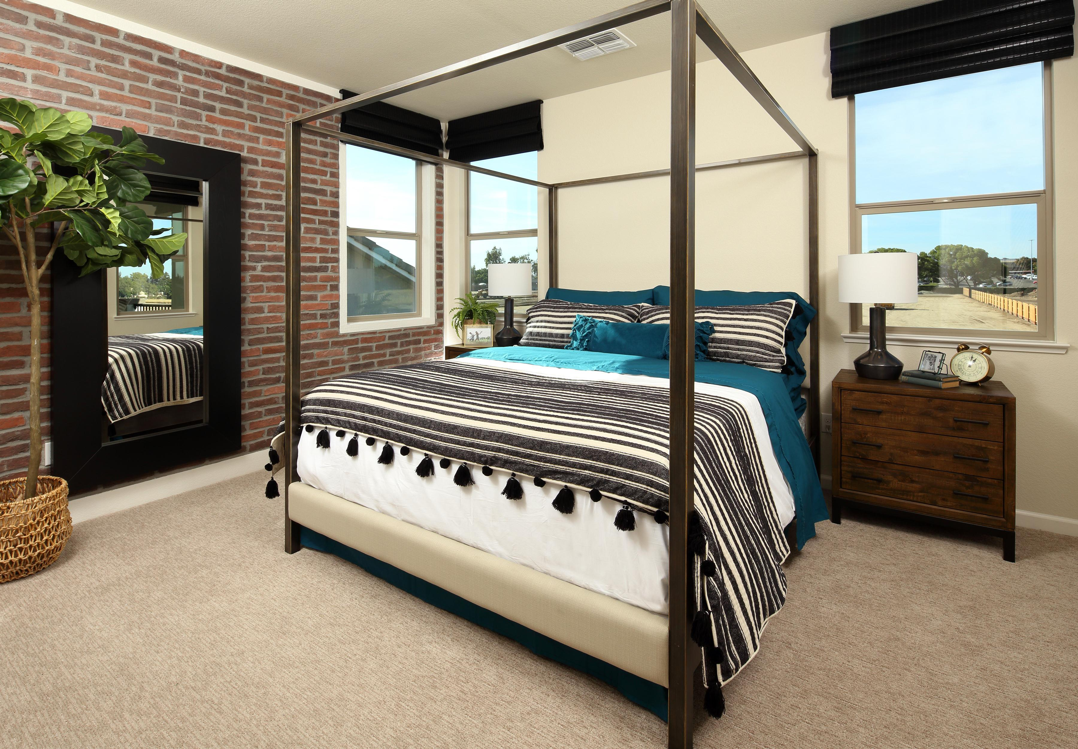 Bedroom featured in THE CHANDELIER By Florsheim Homes in Modesto, CA