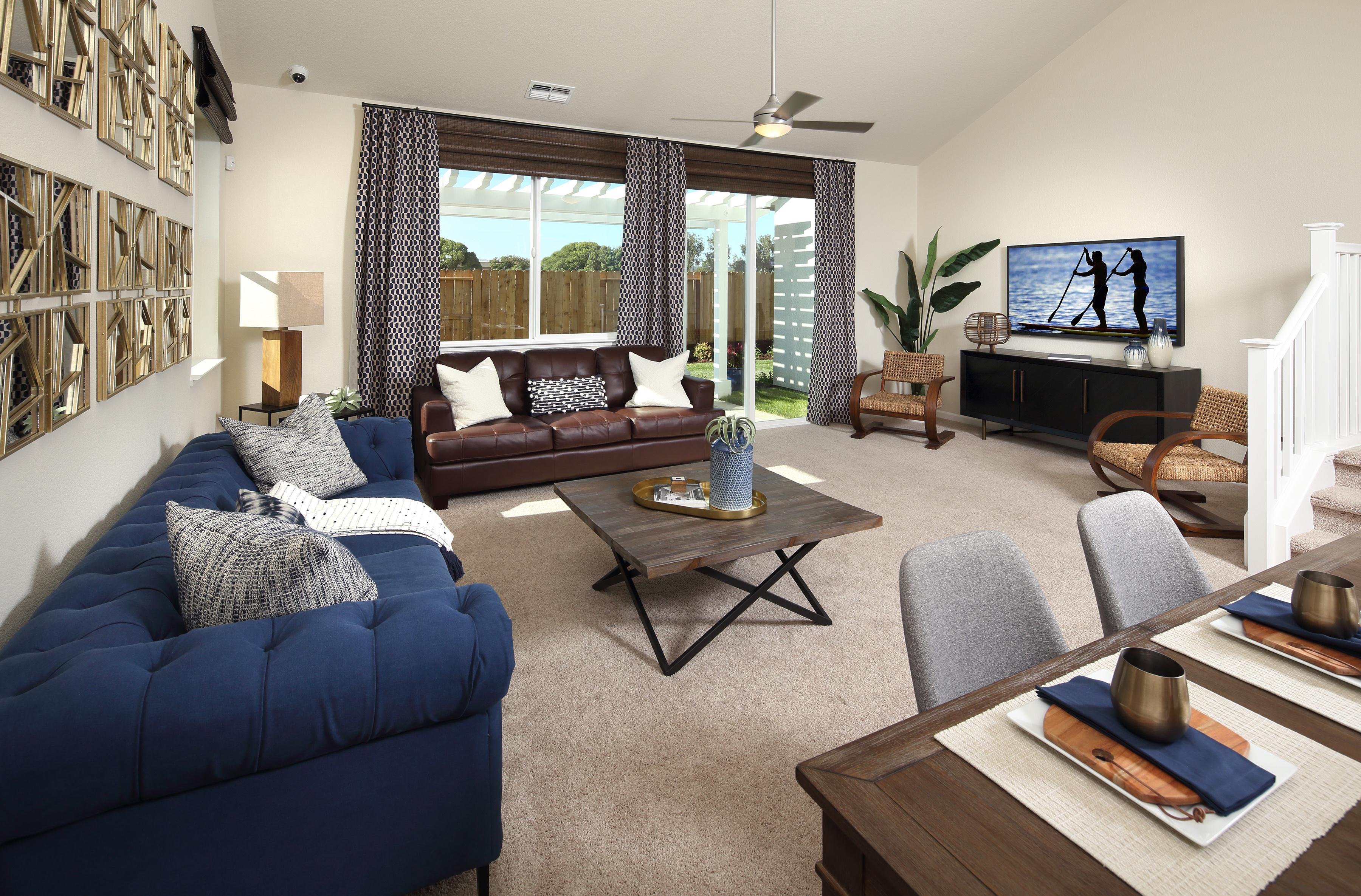 Living Area featured in THE MASTERPIECE By Florsheim Homes in Modesto, CA