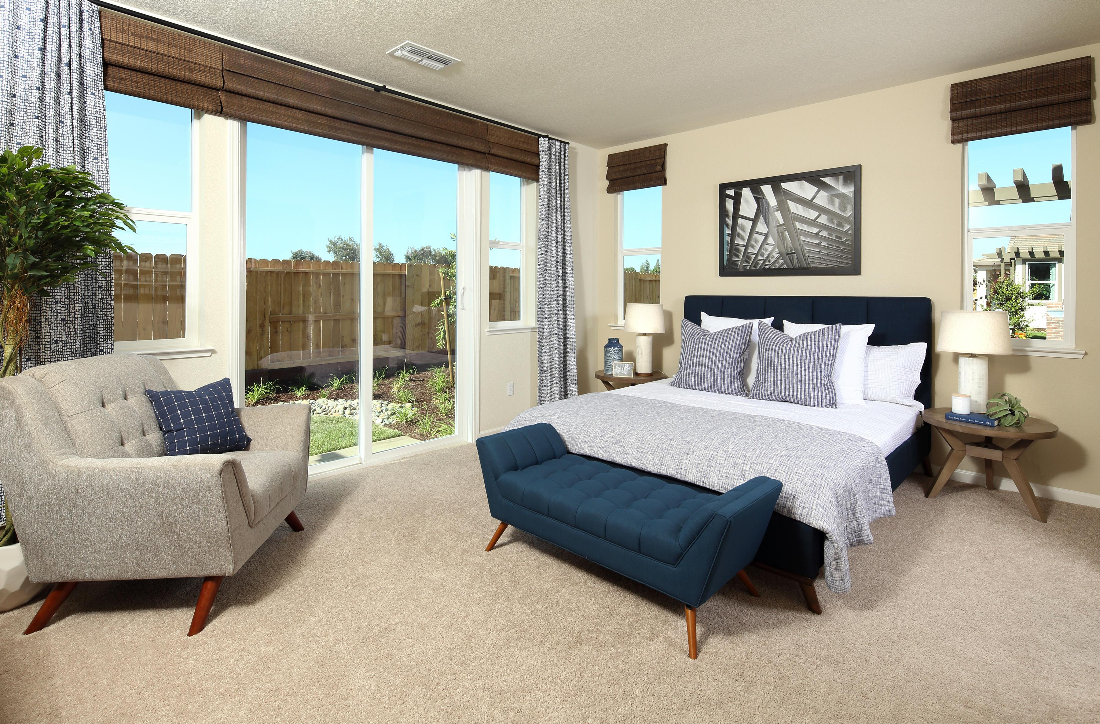 Bedroom featured in THE MASTERPIECE By Florsheim Homes in Modesto, CA