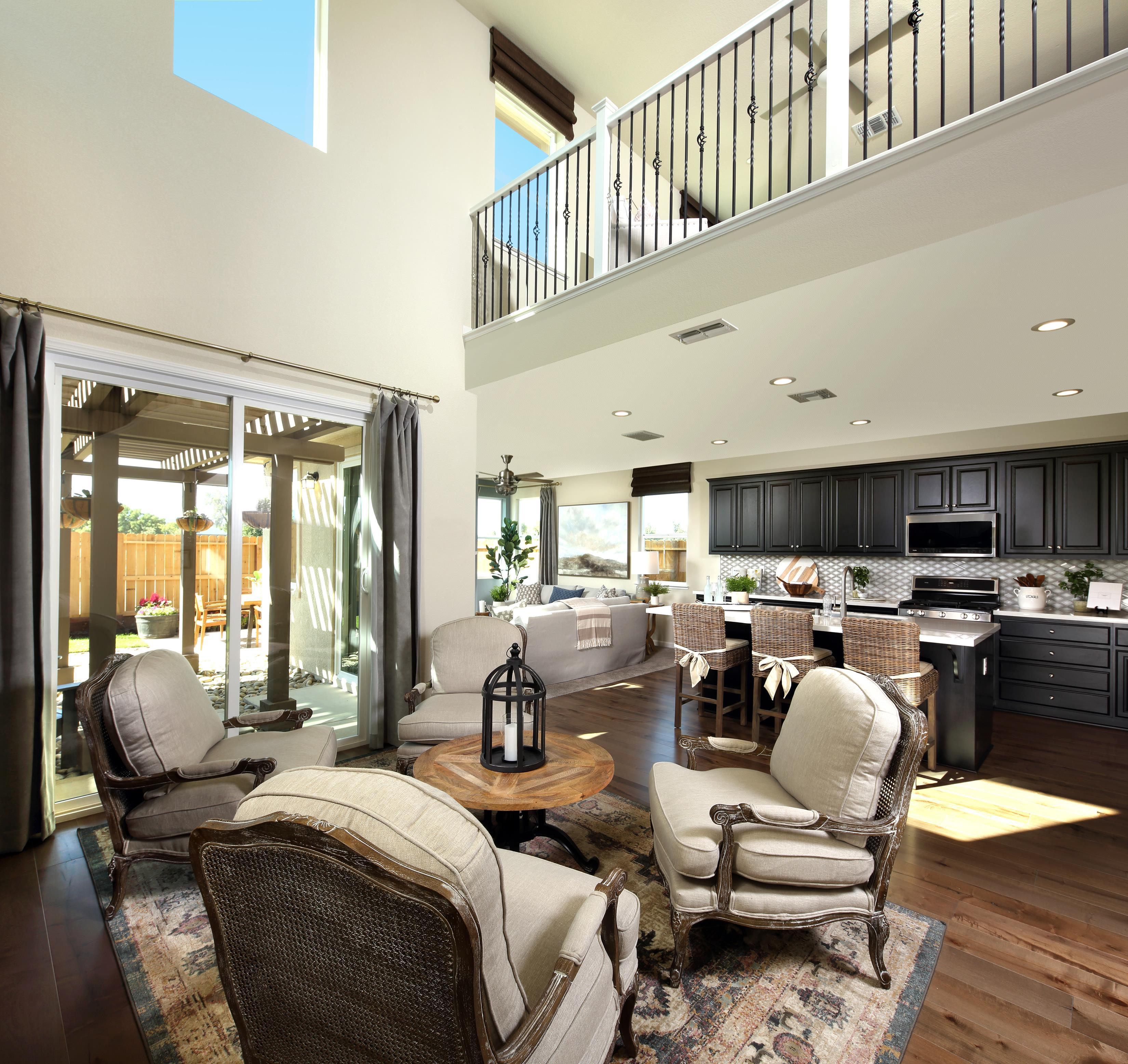 Living Area featured in THE UPTOWN By Florsheim Homes in Modesto, CA