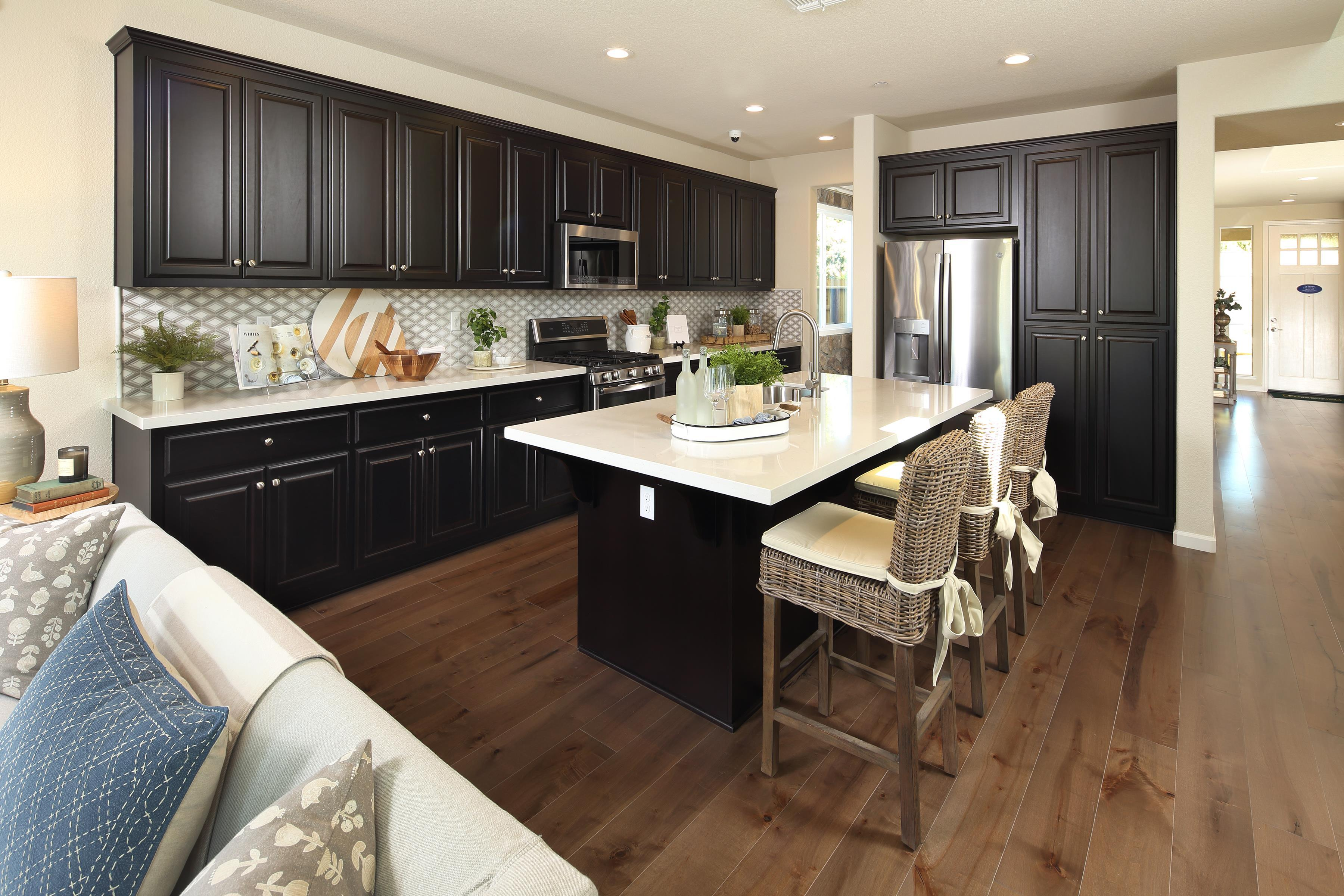 Kitchen featured in The Uptown By Florsheim Homes in Modesto, CA