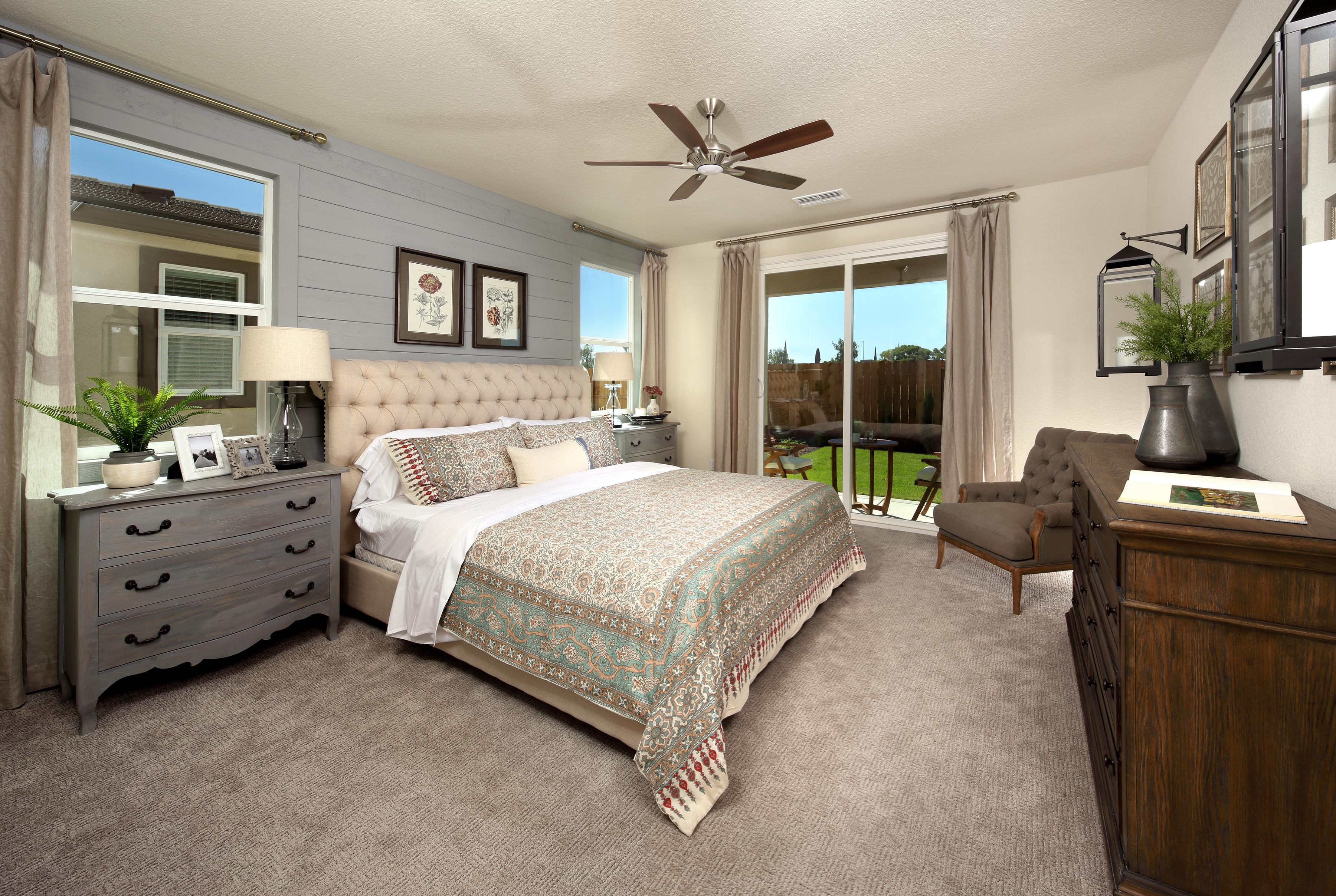 Bedroom featured in THE UPTOWN By Florsheim Homes in Modesto, CA