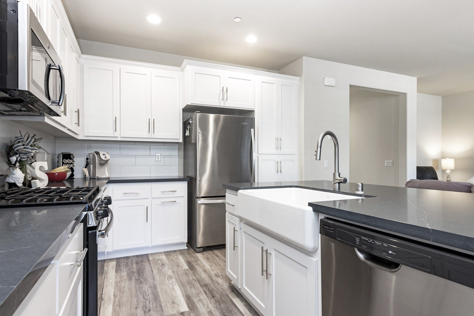 Kitchen featured in The Ambiance By Florsheim Homes in Modesto, CA