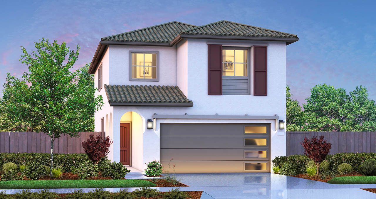 Exterior featured in The Pinnacle By Florsheim Homes in Modesto, CA