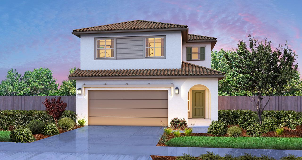 Exterior featured in The Skyline By Florsheim Homes in Modesto, CA