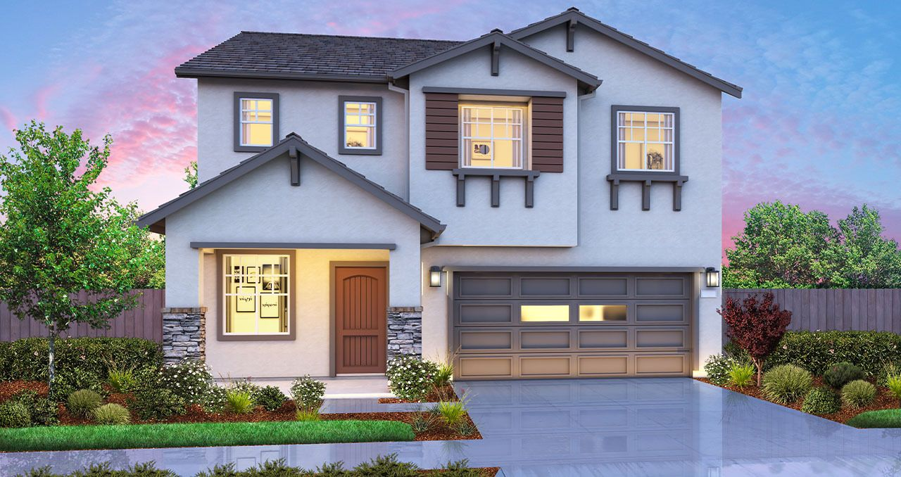 Exterior featured in The Vantage By Florsheim Homes in Modesto, CA