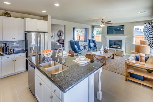 Greatroom-and-Dining-in-The Haven-at-Rose Park in The Village-in-Modesto