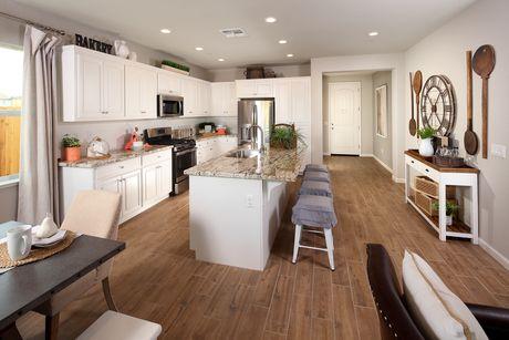 Kitchen-in-The Starlight-at-Rose Verde-in-Turlock