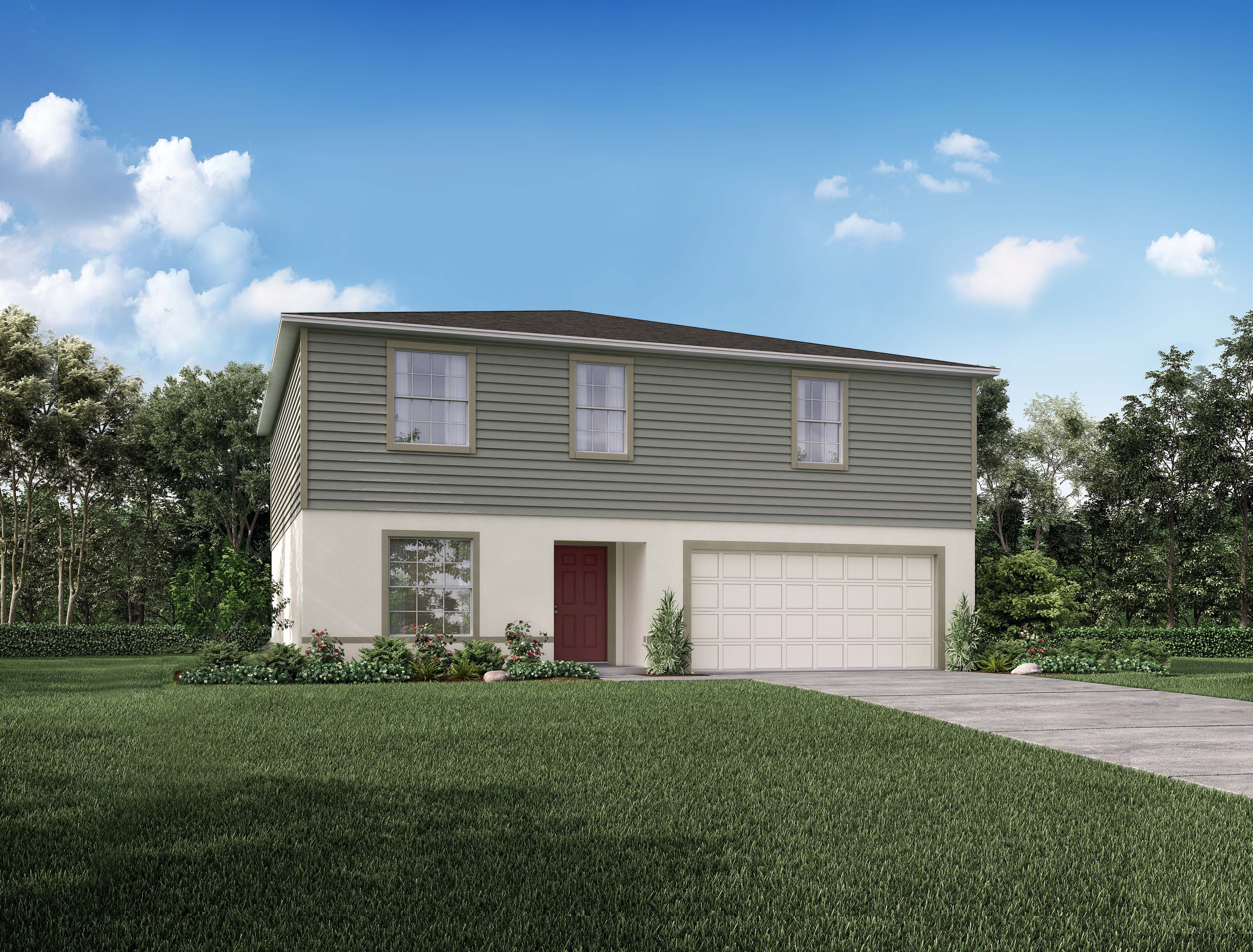 Exterior featured in the 2692 By Focus Homes in Tampa-St. Petersburg, FL