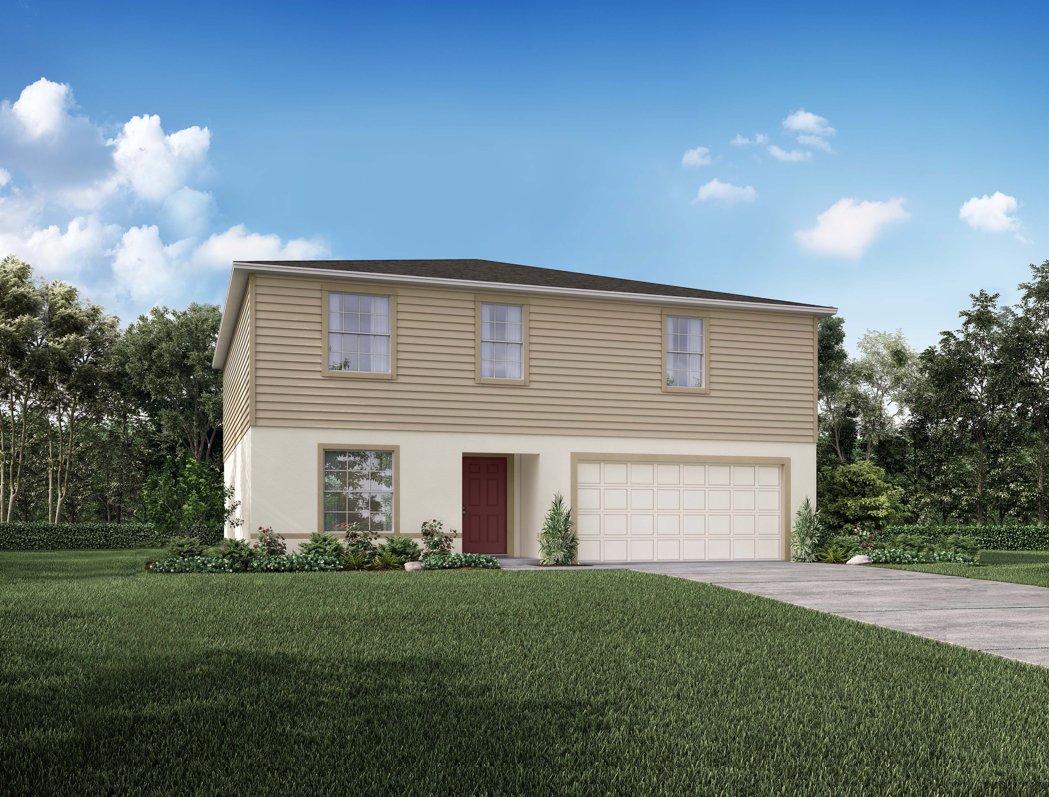 Exterior featured in the 2692 By Focus Homes in Melbourne, FL