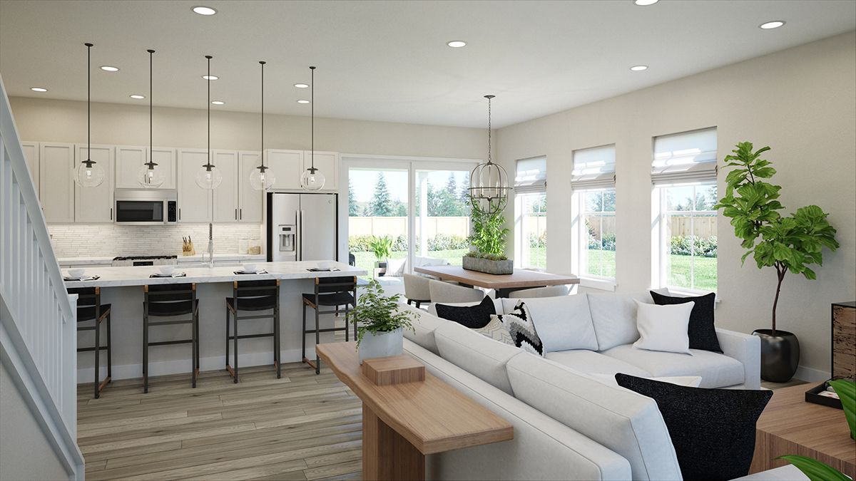 Living Area featured in the Renew by Thrive Home Builders By Central Park in Denver, CO