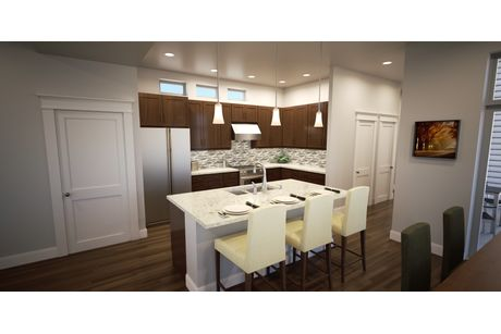 Kitchen-in-Plan One- Thrive Home Builders-at-Twelve Neighborhoods-in-Denver