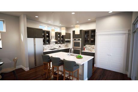 Kitchen-in-Plan Two- Thrive Home Builders-at-Twelve Neighborhoods-in-Denver
