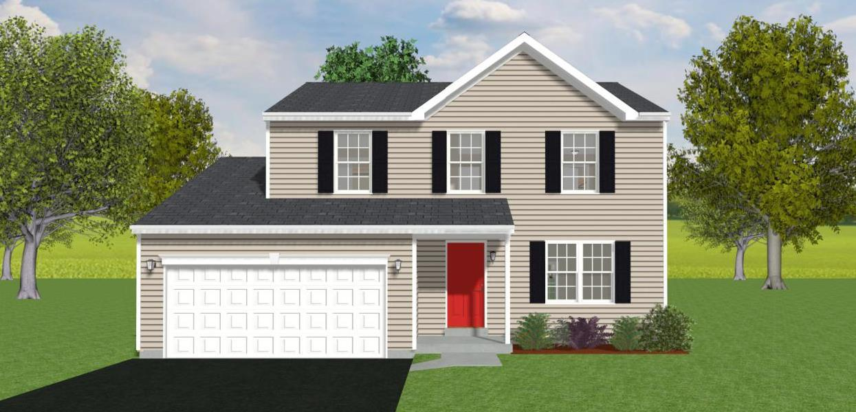 Exterior featured in the Andrew By Forino Homes in Reading, PA