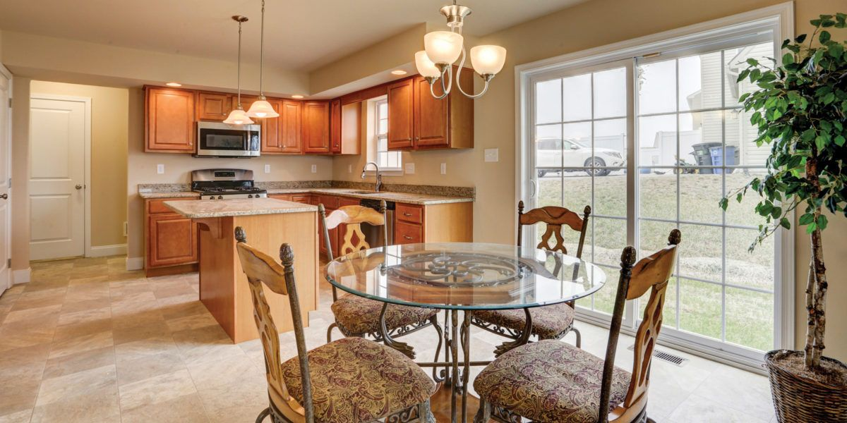 Kitchen featured in the Andrew By Forino Homes in Reading, PA