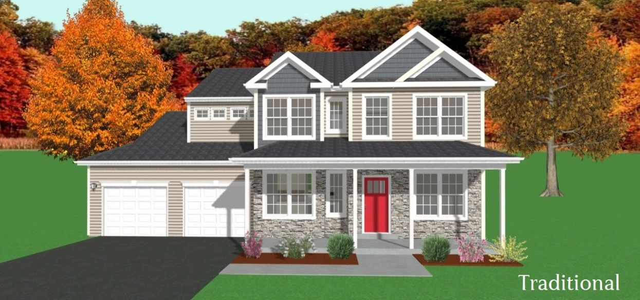 Exterior featured in the Sutton By Forino Homes in Reading, PA