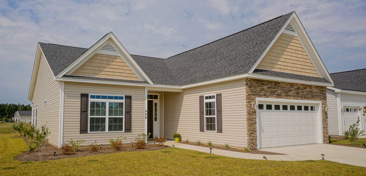 Exterior featured in the Ashley By Forino Homes in Savannah, SC
