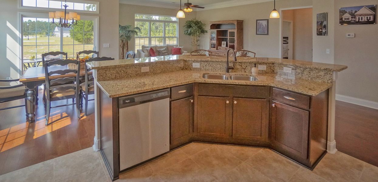 Kitchen featured in the Ashley By Forino Homes in Savannah, SC