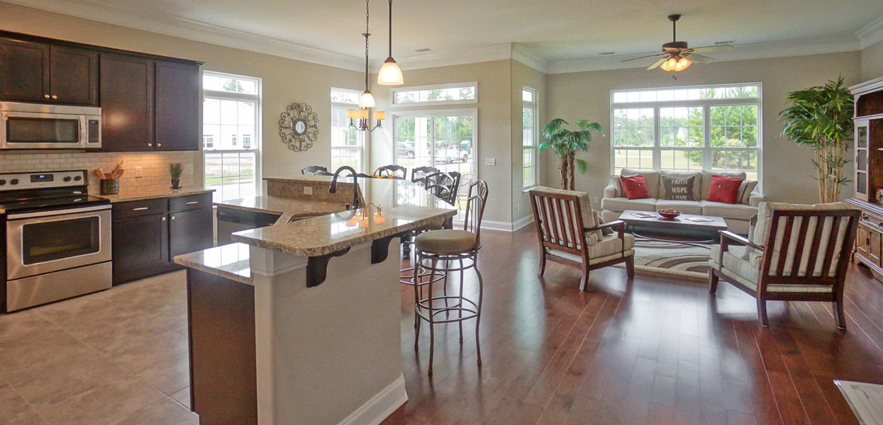 Living Area featured in the Ashley By Forino Homes in Savannah, SC